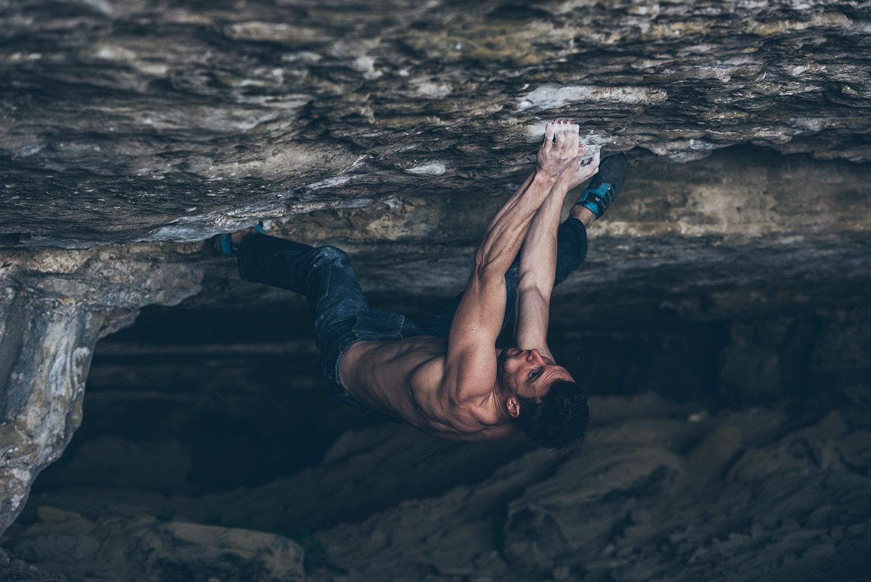 Jernej Kruder sending Catalan witness the fitness 8c Cova del ocell 2017