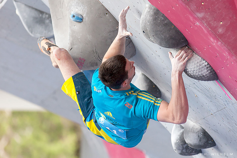 Jernej Kruder boulder worldcup vail