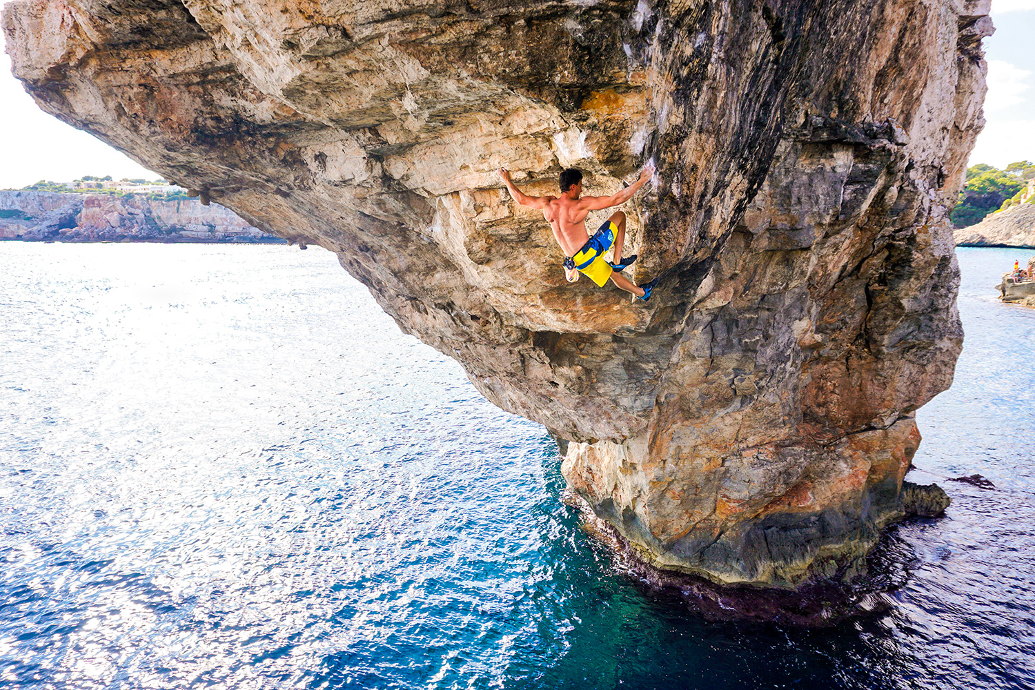 Jernej Kruder climbs Es pontas 9b second ascent (DWS), Mallorca 2016